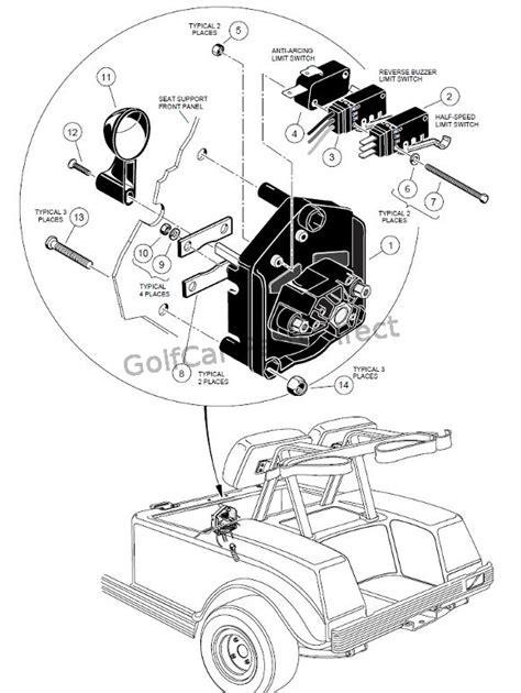 Club Car Forward Switch Wiring Diagram 48 Volt Battery by Forward Switch 48v Club Car Parts Accessories