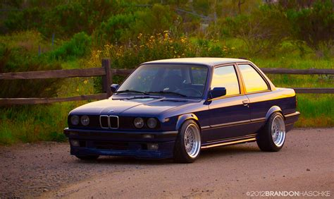 1991 Bmw E30 by E30 1991 Bmw E30 318is Slick Top Slammed Stanced