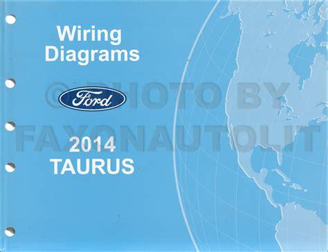 Ford Taurus Wiring Diagram Manual Original
