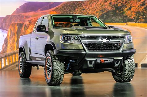Trail Ready Chevrolet Colorado Zr2 Concept Debuts In La