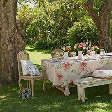 Summer Garden With Shabbychic Furniture  Summer Garden