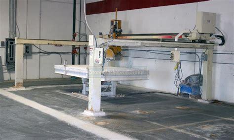 2007 matrix sebring bridge saw w hydr tilting table