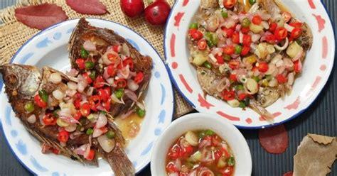 Resep dan cara membuat sambal ijo padang. Resep : Ikan Goreng Sambal Matah | Smartmama