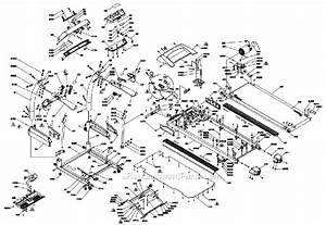 Vision Fitness Tm434 Parts List And Diagram
