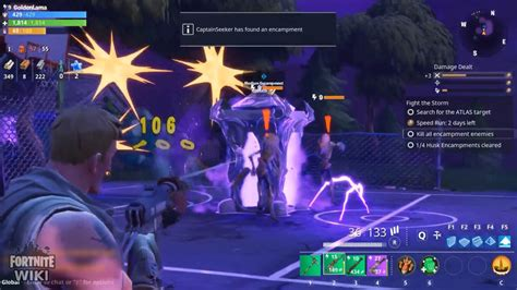 fortnite wiki destroy  encampments youtube