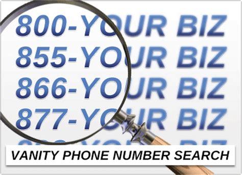 Vanity Number by Vanity Phone Number Search Find Numbers Now