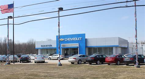 Schafer Chevrolet In Pinconning  Midland, Saginaw & Bay