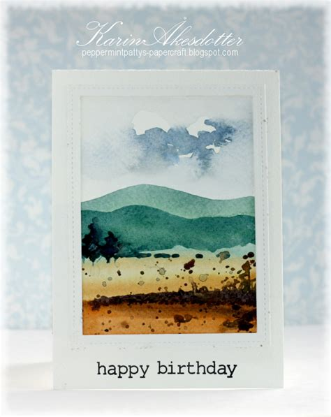 We did not find results for: Peppermint Patty's Papercraft: Simple Watercolor card tutorial - Inspiration Journal