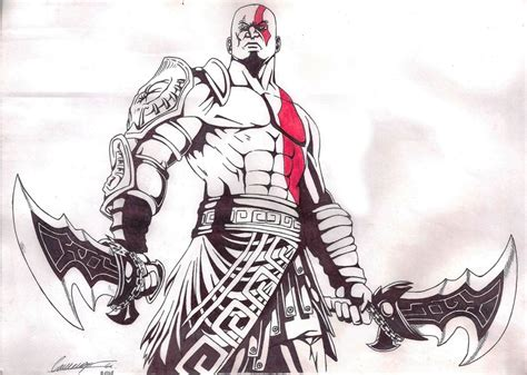 Kratos Drawing At Free For Personal Use
