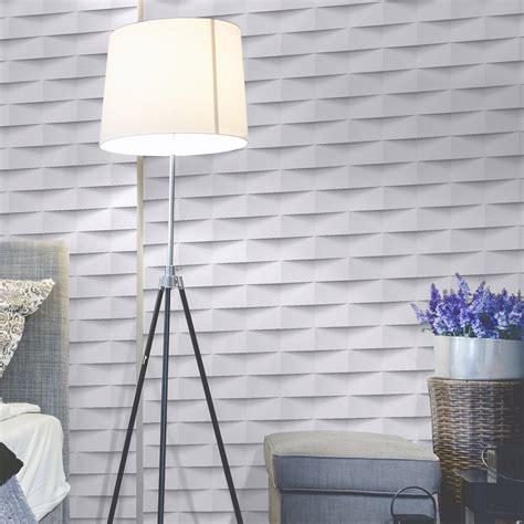 leroy merlin papier peint cuisine papier peint intissé 3d origami blanc leroy merlin