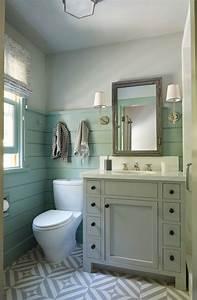 Small, Bathroom, Mixed, Patterns, Shiplap