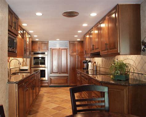 traditional galley kitchen  bryn mawr pa morris black