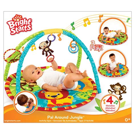 tapis d eveil la jungle tapis d 233 veil pal around jungle playgym bright starts bright starts www babyhouseonline be