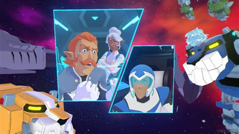 voltron vr chronicles dreamworks game coran ninny frustrated legendary defender