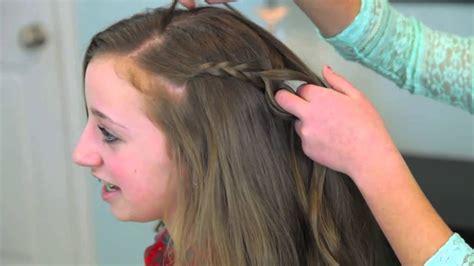 cute girls hairstyles youtube the woven updo cute girls