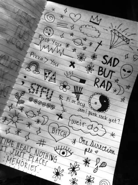 Pin by Abby on • Grunge & Aesthetic • in 2019 | Doodle art, Drawings, Doodles