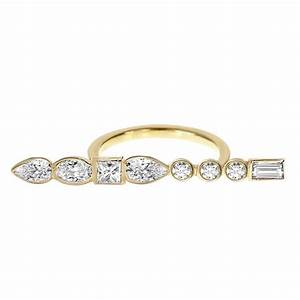ilana ariel stepping stone long bar ring custom With long wedding rings