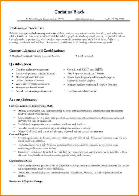 Experienced Nursing Resume by 6 Experienced Nursing Resume Sles Financial Statement Form