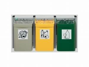 Poubelle De Tri Selectif : poubelle murale pour tri s lectif contact distribution ~ Farleysfitness.com Idées de Décoration