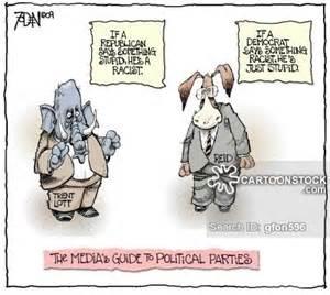 Republican Vs. Democrat Cartoon