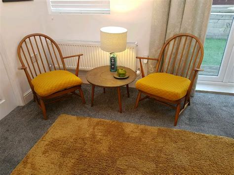 chairs ercol lounge blond