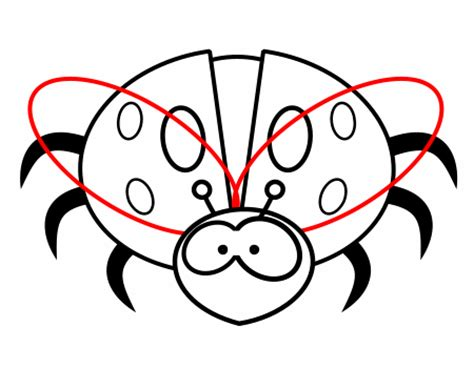 drawing cartoon insects