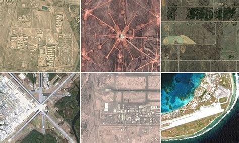 armys secret bases mapped  google maps