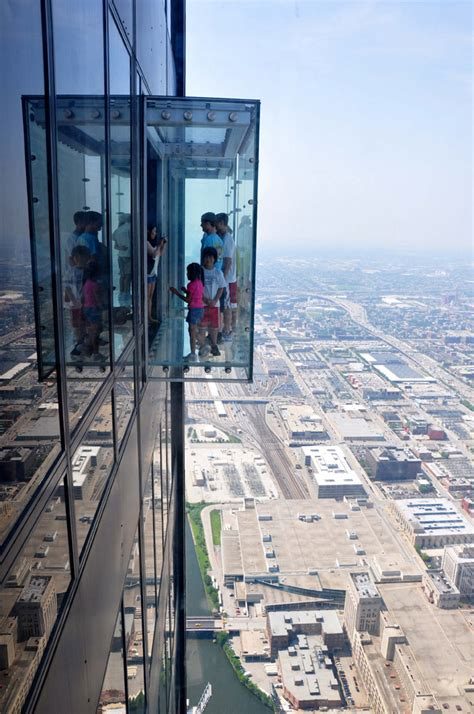 Willis Tower Observation Deck Parking by On Top Of Chicago Taking In Breathtaking View From Willis