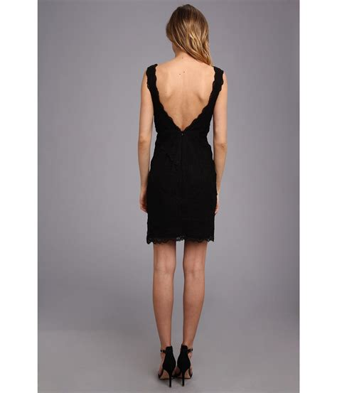 Nicole Miller Marion Lace Dress Black Shipped Free At Zappos