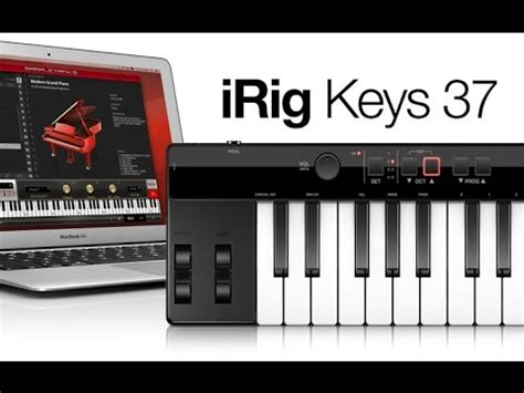Garageband Keyboard Controller by Demo Of Irig Universal Portable Keyboard For Ipa