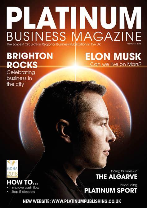 Platinum Business Magazine - Platinum Publishing Group