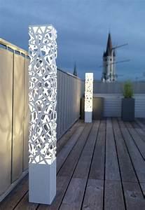 Luminaire Exterieur Mural : luminaire ext rieur design et clairage de terrasse et balcon ~ Edinachiropracticcenter.com Idées de Décoration