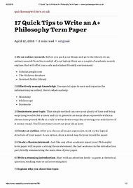 High School Persuasive Essay Examples Philosophy Paper Outline Example Computer Science Essay also Making A Thesis Statement For An Essay Best Write My  Ideas And Images On Bing  Find What Youll Love How To Write A Thesis Paragraph For An Essay
