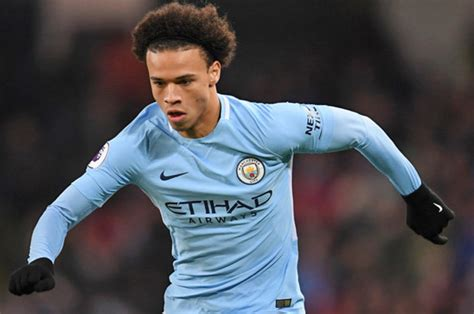 man city news leroy sane   offered  contract