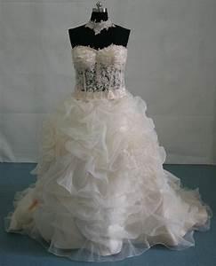 see through corset bridal wedding dress With see through bodice wedding dress