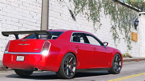 Chrysler 300 Tune Up by 2012 Chrysler 300 Srt8 Add On Replace Tuning Gta5