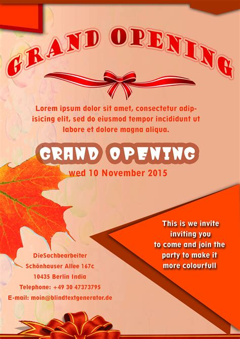 flyer template 20 grand opening flyer templates free demplates