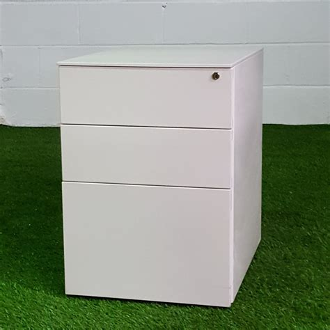 White 3 Drawer Lockable Office Pedestal Unit. Tall Work Table. Top Mount Drawer Slides. Black And White Ikea Desk. How To Make Your Own Desk. Rooms To Go Kitchen Tables. Floating White Desk. Best Desk Chairs For Back Pain. Desk Sets And Accessories