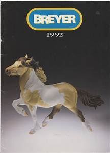 Breyer 1992 Dealer Catalog Manual Model Horses Reeves