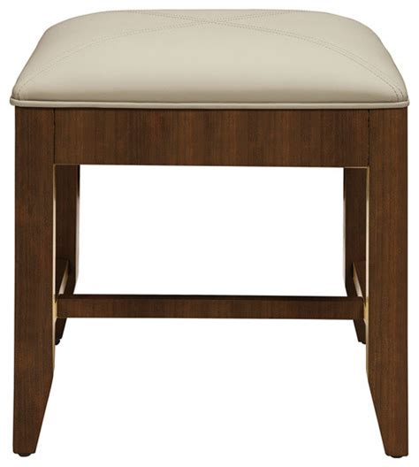decolav mahogany vanity stool contemporary bathroom sinks by poshhaus