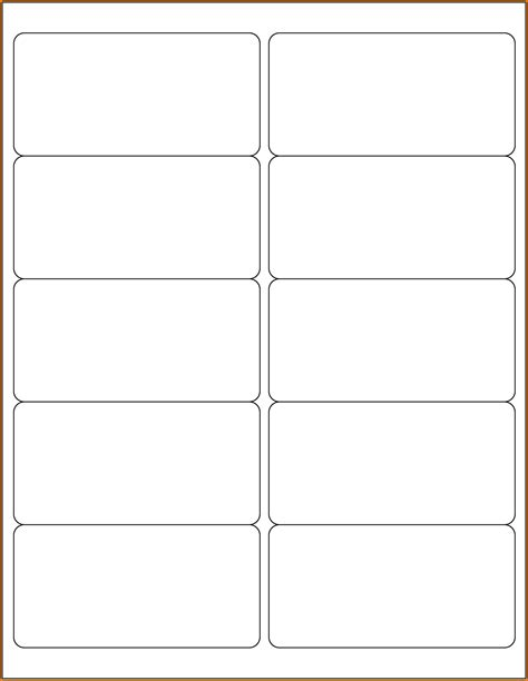 Avery 8163 Template For Word by Avery Templates For Word Template Ideas