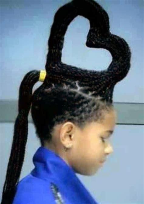 coiffures rigolotes pour enfants mais aussi pour les