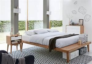 Deco Chambre Blanche : une chambre blanche accessoiris e d un tapis graphique ~ Zukunftsfamilie.com Idées de Décoration
