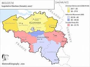Belgium. Legislative Election 2007 | Electoral Geography 2.0
