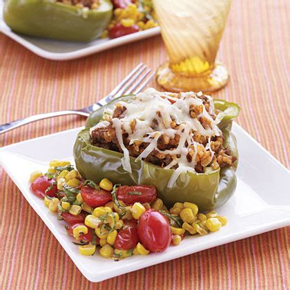 cooking light stuffed peppers stuffed peppers recipe myrecipes
