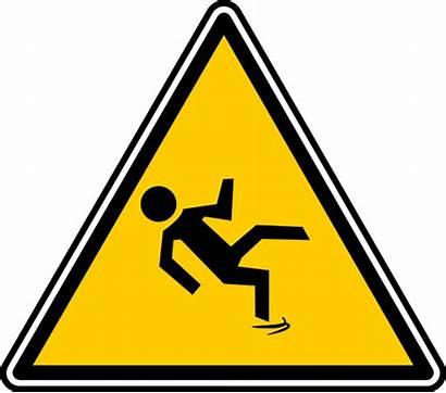 Sign Slippery Warning Clipart Slip Wet Floor