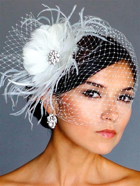 Vintage Style Brooch Fascinator Headpiece And Birdcage
