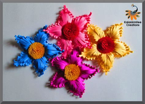 majestic quilled flower tutorial kalanirmitee creations