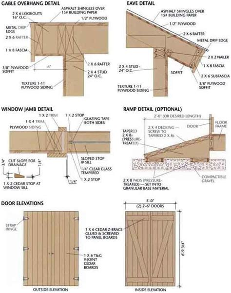 1 free shed plans 8 x 12 gable pole barn kit prices