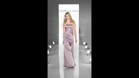 bridesmaid dress sorella vita  youtube